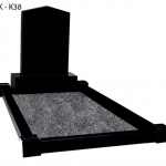 black-granite-headstone-full-kerb-flat-post-surround