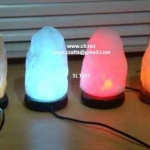 color salt lamps